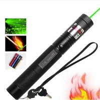 Wholesale Green Bore Sighter - High Quality 8000-10000 Meters Long distance High Power Tactical Green 303 Laser Pointer Powerful hunting Laser bore Sighter no Battery