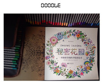 Wholesale Dreams Book - Adult Coloring Books 4 Designs Secret Garden  Animal Kingdom  Fantasy Dream  Enchanted Forest 24 Pages Kids Adult Painting Colouring Books