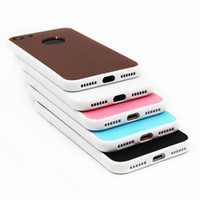 Wholesale front back phone cases for sale – best 2in1 Degree Full Cover Front And Back Protective Phone Case For iphone Case Soft TPU Kilif For iPhone s Plus