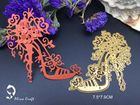 Wholesale Embossing Die Cuts - Metal cutting dies flower high-heeled shoes Scrapbook card paper craft home decoration embossing stencil cutter