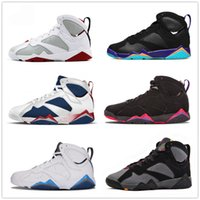 Wholesale Bunny Basketball Shoes - 7s Classic 7 hare basketball shoes sneakers raptor french blue lola bunny hot lava verde Bordeaux Alternate women men sports shoes