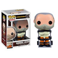 Wholesale Pop Lamp - FUNKO POP Marvel 3.75inch The Silence of the Lamps Hannibal Lecter #25 Vinyl Doll action figure Original New Box in stock
