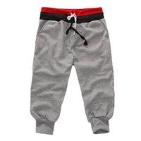 Wholesale Wholesale Low Crotch Pants - Wholesale-New Special Men Pants Men's Large Size Trousers Casual Calf-Length Jogger Pants Low Crotch Harem Pants