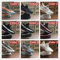 Wholesale 46 Box - [With Box]Drop Sale Boost 350 V2 Cream White Zebra Black Red Bred Beluga Women And Men Shoes Eur 36-46 InStock