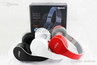 Wholesale Headphones Dj Dhl - Newest Version Wireless Bluetooth Headphone DJ Headphones Noise cancelling Over Headphones with BOX Factory Sealed Brand DHL Free