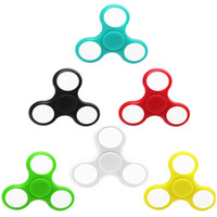 Wholesale add fidget toy for sale - Group buy LED Fidget Spinner Toy Glowing Hand Finger Spinner Perfect LED Glow Toys For ADD ADHD Anxiety Stress Relief and Boredom