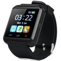 Wholesale B Email - Original Factory U8S Outdoor Sports Smart Bluetooth wrist Watch With Remote Camera Pedometer Sedentary Reminder Smartwatch +B