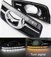 Wholesale Daytime For Cruze - 2PCS Car LED DRL Fit For Chevrolet Cruze 2009 2010 2011 2012 2013 Daytime Running Light Turn Signal Fog Lamp
