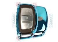 Wholesale Hyundai Ix45 - Car-styling Soft TPU Car Remote Key Cover Key Case fit for Hyundai i10 i20 i30 IX25 IX35 IX45 Elantra Accent Avante Porter Grand