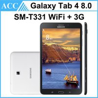 Remis à neuf Original Galaxy Tab 4 8.0 SM-T331 8,0 pouces GSM 3G Unlock Phone Tablette 1,5 Go RAM 16 Go ROM 3.0MP appareil photo Android Tablet PC DHL 5pcs