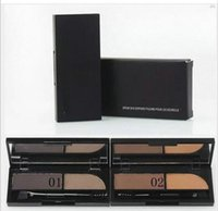 Wholesale Brow Shader - Free Shipping Brand Makeup 2 Colors Eyeshadow, Eyebrow Powder ,Brow Shader( 1 pcs lot)