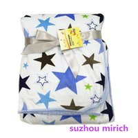 Lovely Großhandel Star Designs Baby Swaddle Decken Neugeborenen Baby Throw Manufactuers China Warmful Soft Touch Qualität