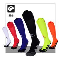 Wholesale Stripe Sweat - Soccer Socks Men Winamx Over Knee High Stripe Soccer Sweat-Absorbent Football Socks Anti-Bacterial sock