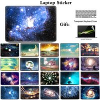 Wholesale 15 Inch Laptop Skin Stickers - Romantic Starry sky Laptop Sticker Skins For Apple Macbook Air Pro Retina 11 12 13 15 For Apple Macbook 13.3 inch