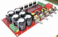 Wholesale Pass Amplifier - Freeshipping TDA7294 Subwoofer Low Pass Filter 2.1 Amplifier Board Module 2 * 80W +160W