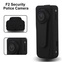 Wholesale camera police resale online - Full HD P Police Camera Security Guard Recorder Mini DVR Body Pocket Camera Night Vision wide auto cycle recording mAh Battery