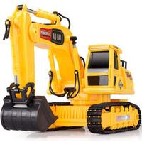 Wholesale Machine Hook - Wholesale-Olympian remote control engineering truck remote control car excavator hook mining machine toy automodelismo eletricos