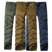 Wholesale Military Overall Uniform - joggers pants the new outdoor recreation of the outdoor recreational military overalls the uniform tactics training men's trousers