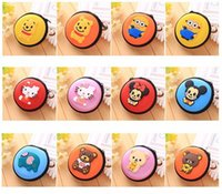 Wholesale Super Cute Korean - Super cute Cartoon Silicone Coin Purse Small Change Wallet Monederos Infantiles Bourse Monnaie De Petite Taille Port Free Shipping
