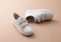 Wholesale Children Spring Fashion - wengkk store kids real leather sneakers 2016 fashion sporting shoes for children top selling high quality free shipping