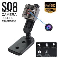 SQ8 Full HD 1080P 720P Pequena Mini escondida SPY Camera Infrared Night Vision Sport DV Voice Video Recorder Camcorder Câmeras de melhor qualidade