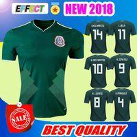Wholesale G R - New 2018 World Cup Mexico soccer jerseys CHICHARITO R MARQUEZ G DOS SANTOS O PERALTA H.LOZANO footbalL shirt thailand camisetas de futbo