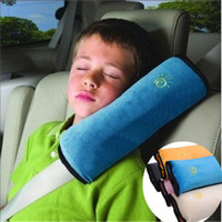 Wholesale Yellow Baby Car Seat - Wholesale-Baby Auto Pillow Car Protect Shoulder Pad kids Seat pillow Cushions baby pillow Protect Shoulder Pad for Seat A0688
