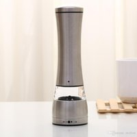 Wholesale Ceramic Kitchenware Wholesale - High Quality Manual Pepper Mill Kitchenware Stainless Steel Black Pepper or Salt Mill Strong Ceramic Grinder Mechanism