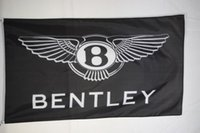Wholesale flags banners promotional - Bentley Black Advertising Promotional Flag Banner 3X5