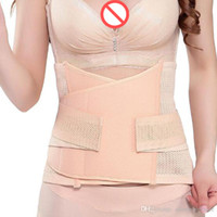 Wholesale Tummy Shaping Belt - Breathable strong shaping corset postpartum belt cinch maternity Pregnancy Girdle Tummy Slim Slimming chastity Belt Belly Band 100pcs