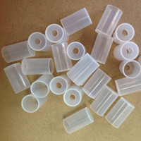 Wholesale Disposable Drip Tip For Ego - Disposable Atomizer Cap Mouthpiece Dustproof Soft Drip Tips Silicone Tests Caps eGo Electronic Cigarette for CE4 CE5 CE4+ MT3