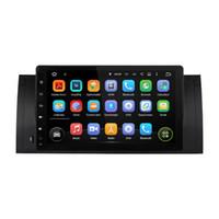 "Wholesale Dvd Usb Tv - 1024*600 Quad Core 1 din 9"" Android 5.1 Car Radio DVD GPS for BMW M5 E39 X5 E53 With 3G WIFI Bluetooth TV USB DVR 16GB ROM Car DVD"