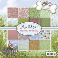 Wholesale Design Paper Pads - Wholesale- Find it Trading Holland - Amy Design Paper Pad ADPP10006 Animal Medley - cardmaking & scrapbooking