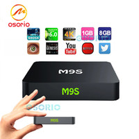 Wholesale Home Solutions - M9S Android TV Box Amlogic S905X 1GB 8GB Home Streaming Solution HDMI2.0 4K Wifi Mini PC Android Boxes