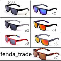 подходят солнцезащитные очки оптовых-Оптика Zeiss Dane солнцезащитные очки Марка женщины Спорт пляж солнцезащитные очки полный кадр fit лицо 7 цветов варианты быстрый корабль 7983 MOQ=10