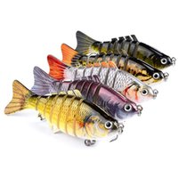 10cm / 15.5g Lifelike Lures Plastic Hard Crank Bait Bionic Lures Fishing Gear 5 cores Fishing Hooks Lures Wholesale