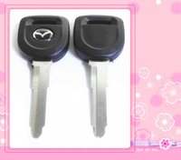 Wholesale mazda key replacement - KL28 Replacement Transponder Car Remote Case Fob Shell Car Key Blank for Mazda high quality factory derect sale