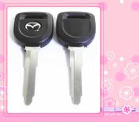 Wholesale Transponder Key Casing - KL28 Replacement Transponder Car Remote Case Fob Shell Car Key Blank for Mazda high quality factory derect sale