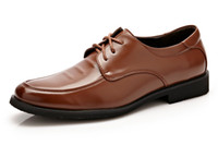 Wholesale Nude Color Work Dress - Handmade genuine leather shoes men plus size men flats top quality oxford outdoor shoes for men autumn working business shoes