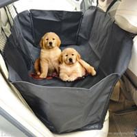 esteiras do carro do cão venda por atacado-Cão Gato Tampa de Assento Do Carro de Segurança Para Animais de Estimação À Prova D 'Água Cobertor de Rede Cobertura Mat Interior Do Carro Acessórios de Viagem Car Seat Covers Mat