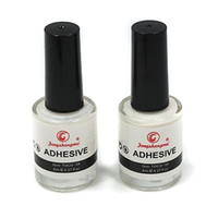 Wholesale Nail Art Adhesive Glue - 2PCS White Glue Adhesive for Galaxy Star Foil Sticker Nail Art Transfer Tips