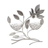 Wholesale Nest Earrings - Bird Nest Leaf Shape Earrings Bracelet Necklace Jewelry Display Stand Holder Organizer Show Rack