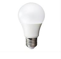 bombilla led e14 cree 5w al por mayor-E27 Bombilla LED Cubierta de plástico Aluminio Bombilla de globo de 270 grados 3W / 5W / 7W / 9W / 12W Blanco cálido / Blanco frío