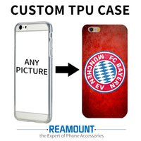 Wholesale Custom Phone Case Diy - Custom DIY Print Phone Cases For Samsung A3 2017 A5 2017 S6 S7 S6 edge Cover Case Personalized TPU Soft Back Shell Bags