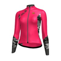Wholesale 4xl Motorcycle Jersey - ale 2017 Women cycling jersey bike long sleeve mtb Maillot ropa ciclismo bicycle clothes motorcycle clothing sportswear E1204