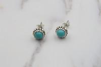 Wholesale luxury earings - Authentic 925 sterling silver earrings for women luxury jewelry fashion earings luxury Turquoise earrings fit pandora
