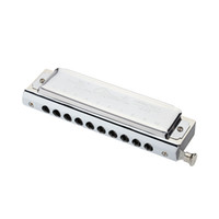 Wholesale Swan Mouth Harmonica - Wholesale-Top Quality Swan Chromatic Key of C Harmonica 10 Holes 40 Tones Mouth Organ Silver with Exquisite Durable Box