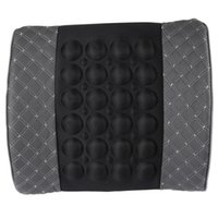 Wholesale Vibrating Functions - Portable Vibrating Back Massage Cushion with Bump Reasonable Magnetize Design Offers Massage Function with Portable Design