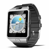 Wholesale Cheapest 3g Dual Camera Phone - QW09 Smart Watch Android Wifi 3G Smart Wacht Bluetooth Wristwatch MTK6572 Dual Core 512MB 4GB Pedometer Smartwatch Phone DZ09 Cheapest 30pcs