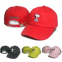 Wholesale Cheap Mice - New Arrival Snoopy Peanuts caps hats strapback Mickey Mouse outdoor sports cap adjustable hat baseball snapback cheap sale